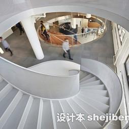 国外办公室楼梯设计
