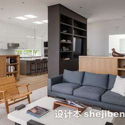家庭客厅隔断设计效果图集欣赏