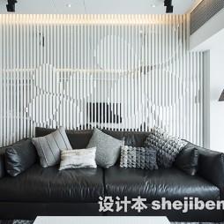 家庭客厅隔断设计效果图欣赏