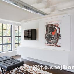 家庭客厅隔断设计效果图片