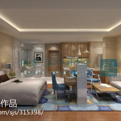 上海 楼盘 平层公寓样板房_1269677