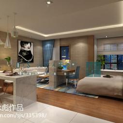 上海 楼盘 平层公寓样板房_1269681