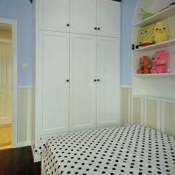 美式风格家装儿童房装修图