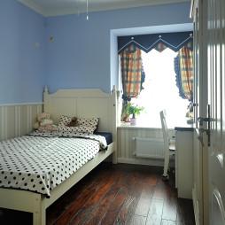 美式风格家装儿童房窗帘装修效果图大全
