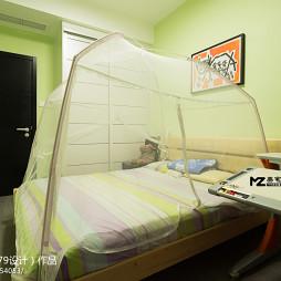 现代四室两厅儿童房装修图