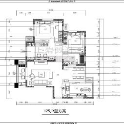 【施工阶段】世茂三期 18--1--1603 面积 125平方_1278154