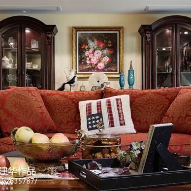 美式室内客厅装修图片
