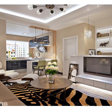简约时尚式电视背景墙装修设计