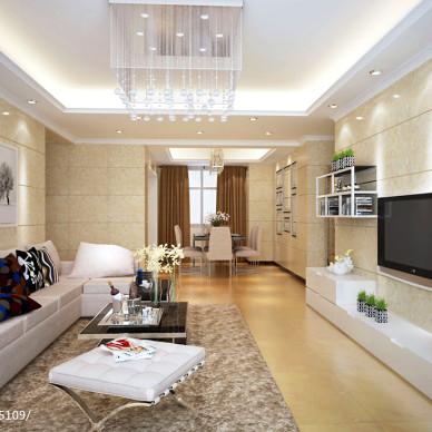 三居室宜家客厅装修效果图