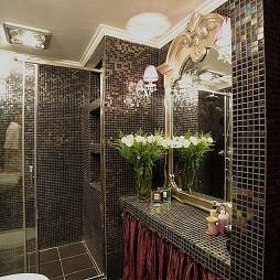 新古典卫生间马赛克贴砖装修效果图大全