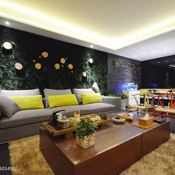 最新现代客厅茶几装修效果图