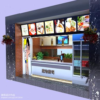 徐州万福街寿司店装修图片