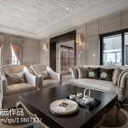 素色的勾边演绎高雅与大气 245平新古典时尚别墅_1298551