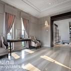 素色的勾边演绎高雅与大气 245平新古典时尚别墅_1298560