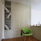 现代私宅简约卧室衣柜装修效果图