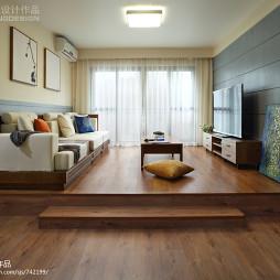 现代简约客厅装修效果图大全2017图片