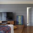 交换空间现代简约风卧室榻榻米装修效果图