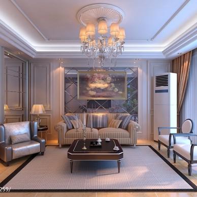 欧式三居家装室内设计装修图