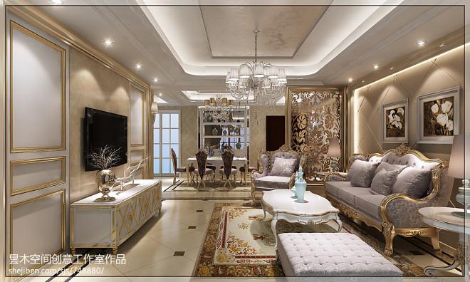 客厅沙发照片墙家居装修设计