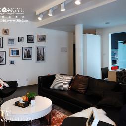 欧式家装客厅照片墙装修效果图大全2017图