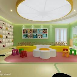 幼儿园壁柜装修效果图大全