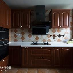 整体厨房台面装修图片大全