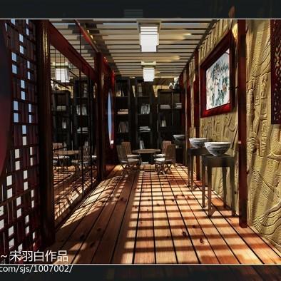 南昌茶逸轩设计项目