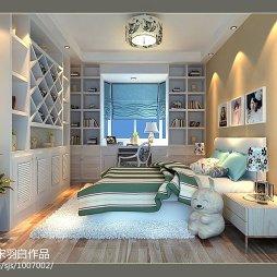 南昌世纪花园家装设计项目_1307518