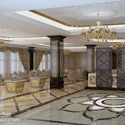 售楼部_欧式工装室内设计活动隔断家居装修设计3000例