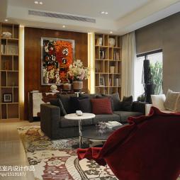 现代简约风格休闲区白灰色沙发室内装修效果图大全