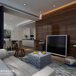 现代简约风格电视墙装修效果图大全