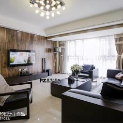 欧式风格客厅电视背景墙装修设计