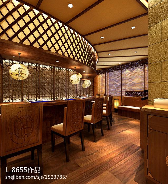 日本料理店效果图片欣赏