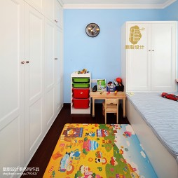 美式乡村风格儿童房装修图片