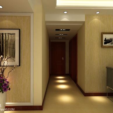 室内家装过道筒灯吊顶设计图