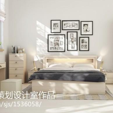 现代家装卧室照片墙效果图大全