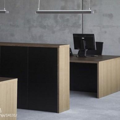 个性实木电脑桌图片