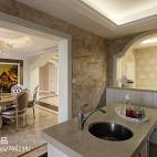 262平米欧式风格室内设计厨房白色橱柜效果图大全