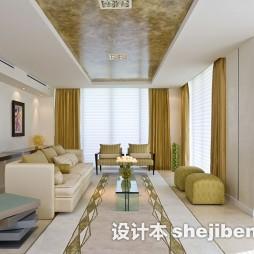 现代客厅长形地毯图片
