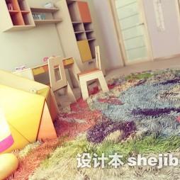 儿童玩具房地毯装修效果图