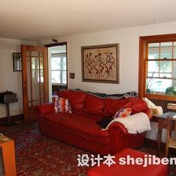客厅花纹地毯效果图欣赏