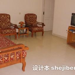 中式客厅红木家具欣赏