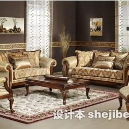 欧式客厅沙发图片欣赏