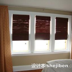 卧室卷帘窗窗帘图片