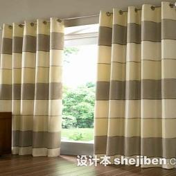 条纹窗帘图片欣赏