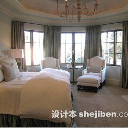 卧室遮光窗帘图片