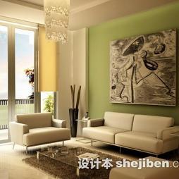 现代风客厅装饰装饰画图片大全