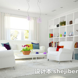 休闲区白色消音地毯图片