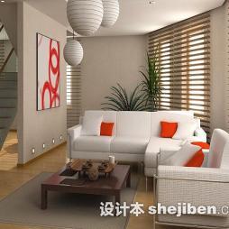 现代客厅茶几地毯图片