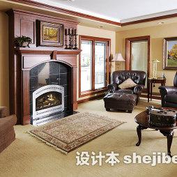 米白色客厅地毯图片